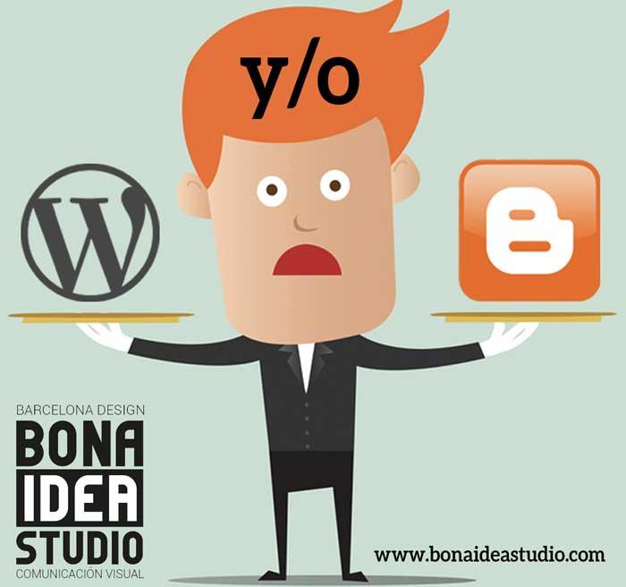 Qué plataforma elegir para tu web o blog: ¿WordPress o Blogger?