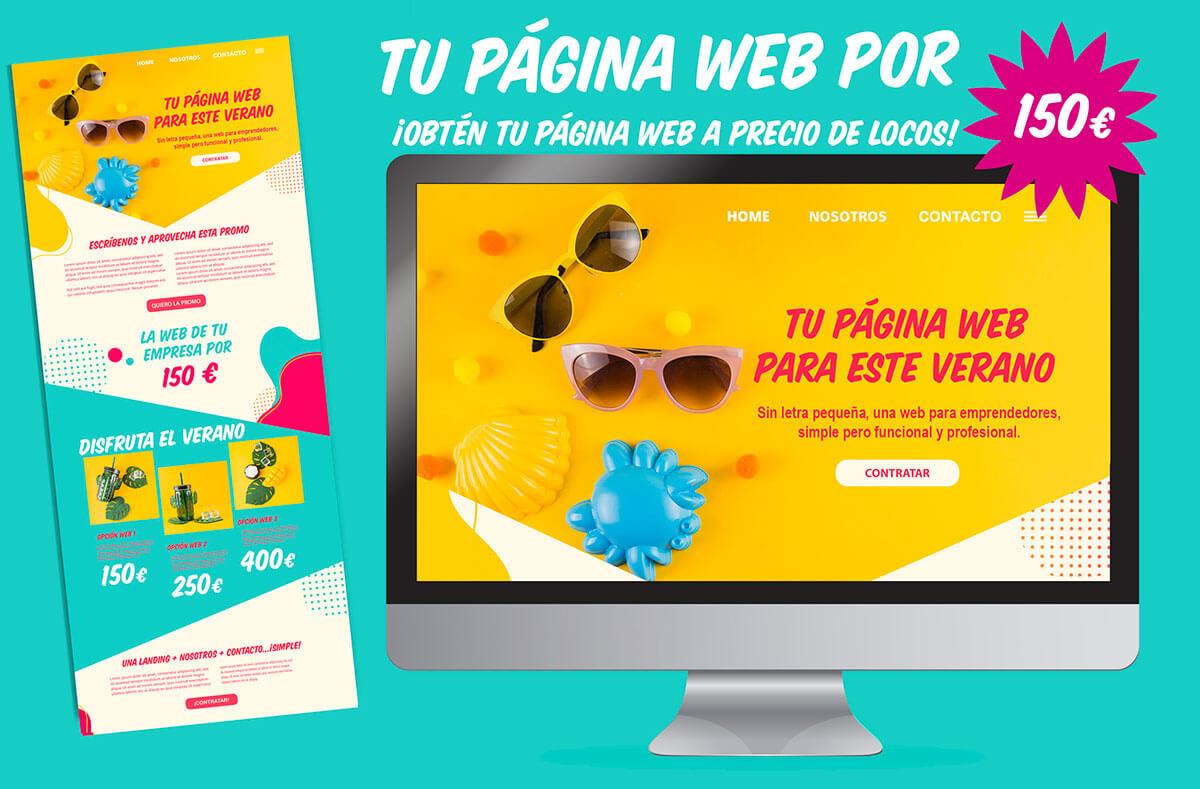 obten tu pagina web