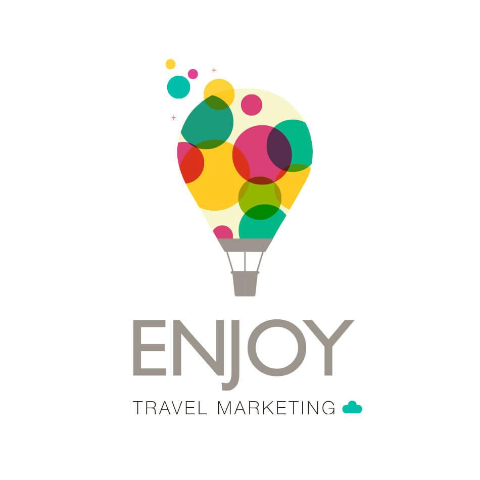 logo enjoy travel marketing