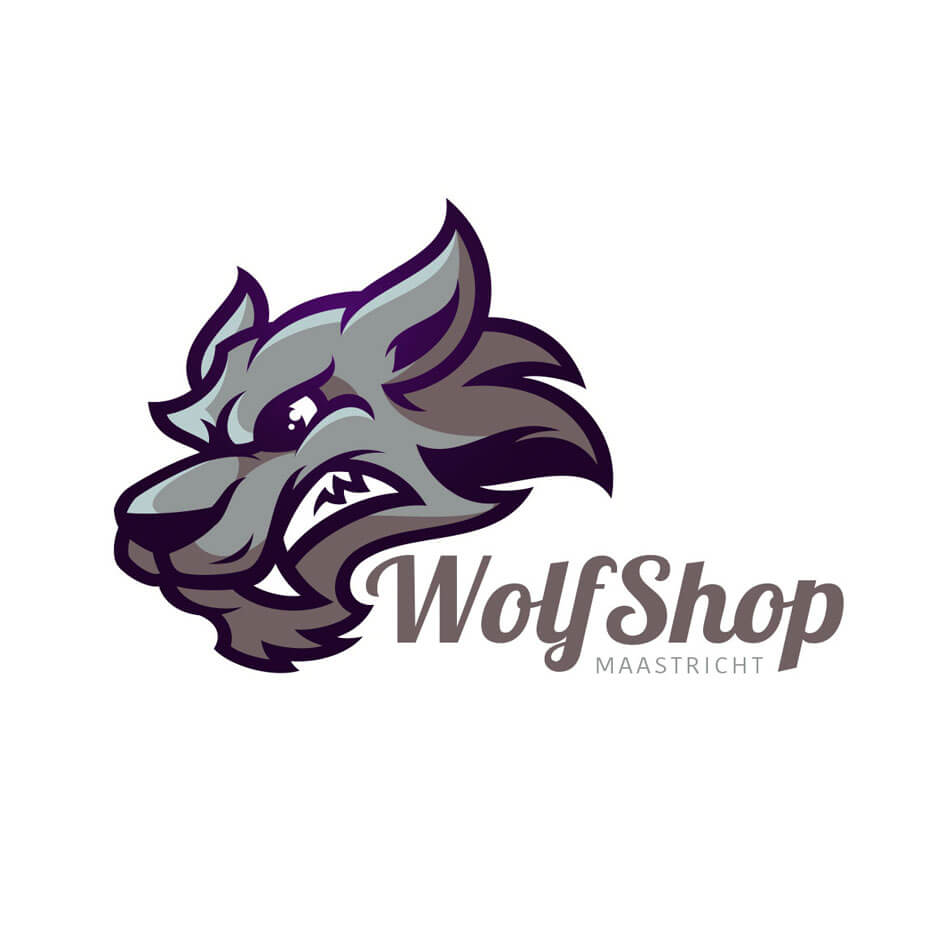 logo wolfshop bonaideastudio