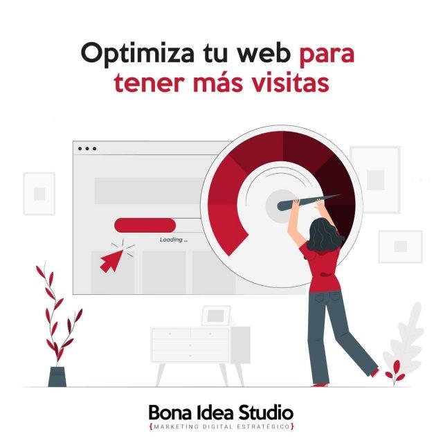 Optimizar tu web para tener más visitas 🚀🚀🚀  Insistimos tanto en esto que somos pesados, pero es que es la clave para mejorar tu presencia en internet aunque no la única. 📣  ¿Por qué es importante la optimización de una web? En esta ocasión os explicaremos 4 puntos fáciles y simples para mejorar la optimización de tu web.   Visita nuestro blog! o entra en bonaideastudio.com/seo/optimiza-tu-web  ¿Cómo optimizas tu web? ¿Quieres que profundicemos en esto incluso con algún podcast o tutorial? ¡Cuéntanos, nos interesa tu opinión!  #optimizacionweb #posicionmiento #posicionamientoseo #tumarca #emprendedores #marketingstrategy #estrategiademarketing #reducirimagenes #tuwebdigital #vuelvetedigital #diseñoweb #webdesign #masvisitas #convertir