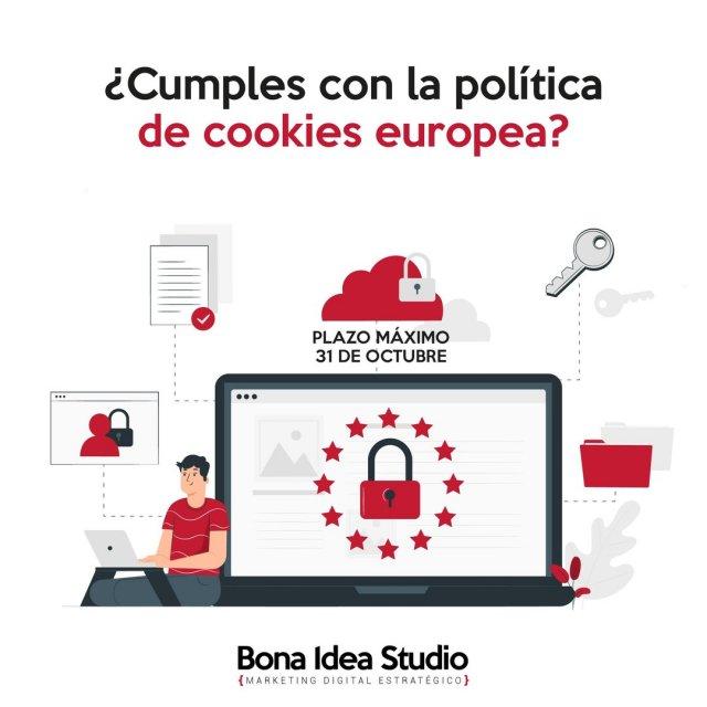 """¿Cumples con la política de cookies europea? ¡Tienes hasta el 31 de octubre para solucionarlo!   A finales de julio la Agencia Española de Protección de Datos (AEPD) actualizó su Guía de Cookies cambiando su criterio respecto al """"seguir navegando"""" para adaptarlo a las consideraciones del Comité Europeo de Protección de Datos (CEPD). En este sentido, las webs actualmente no pueden seguir un criterio similar al asumir que si se navega por ella, el usuario está aceptando la política de cookies.  La AEPD ya no acepta este mecanismo tácito como forma de dar el consentimiento para el uso de cookies analíticas o publicitarias y, por lo tanto, de ahora en adelante, se precisará un consentimiento explícito.  La AEPD ha dado de plazo hasta el 31 de octubre para que las empresas se adapten a este cambio de criterio.  ¡No te arriesgues a multas o sanciones! Escríbenos y analizamos GRATIS si tu web cumple con la nueva normativa europea.   #aepd #politicadecookies #cookies #webdesign #marketingagency #cookieseurope #desarrolloweb #webdeveloper #marketingdigital #emprendedores #emprender #soyemprendedor #soyemprendedora #rgpdevelopment"""