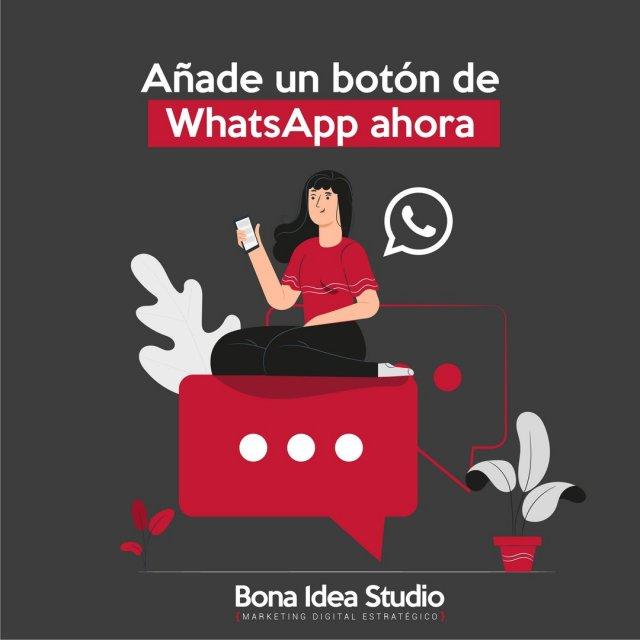 📣 Cómo añadir un botón de WhatsApp en tu página de FacebookAñade un botón de WhatsApp en tu página de empresa en Facebook para que te contacten directamente en tu móvil. Fácil, en 6 pasos. ✔️Visita nuestro blog: ➡️bonaideastudio.com/botonwhatsappOs preparamos en breve los pasos para pasar tu número habitual de WhatsApp a WhatsApp Business con respuesta automática, horario de atención y un perfil profesional sin cambiar de número. 😎#facebookparaempresas #marketingdigital #whatsapp #redessociales #facebookparaempresas #paginafacebook #fanpage #inboundmarketing #marketingtips #clientes #juntospodemos #tutoriales #aprenderredes #estrategiademarketing #whatsappbusiness