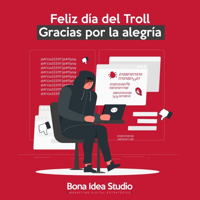 ¡Feliz día del Troll! 🧟‍♀️  Gracias por la alegría con la que comentáis y la creatividad de vuestras palabras.  ¿Qué seria de los Community Manager si nunca nos encontráramos con la ardua tarea de lidiar con un Troll en toda regla? Pues que sencillamente no pasaríamos jamás al siguiente nivel, necesario para lidiar con reseñas negativas reales, esas que nos crujen un poco el corazón (y las estadísticas) pero a las que también necesitamos responder.  Las redes sociales son un punto maravillo de encuentro algunos cercanos y otros del tercer tipo.  ¡Feliz día a todos los trolls del mundo!  🧟‍♀️🧟‍♂️🧟 ➡️➡️➡️➡️➡️➡️  Happy Troll Day! 🧟‍♀️ Thank you for the joy with which you comment and the creativity of your words.  What would become of the Community Managers if we never found ourselves with the arduous task of dealing with a full-fledged Troll? Well, we would simply never go to the next level, necessary to deal with real negative reviews, those that make our hearts (and statistics) crack a bit but to which we also need to respond.  Social networks are a wonderful meeting point, some close and others of the third type.  Happy day to all the trolls in the world!  🧟‍♀️🧟‍♂️🧟 ➡️➡️➡️➡️➡️➡️  #happytrollday #troll #trollday #diadeltroll #community #communitymanager #redessociales #rrss #socialmedia #socialmediamanagement